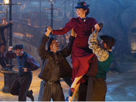 'Mary Poppins Returns' Finds Its Movement Magic Through Storytelling