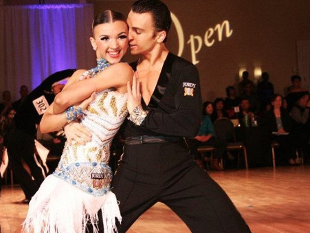 These Latin Ballroom Stars are Bringing Some Heat to 'World of Dance'