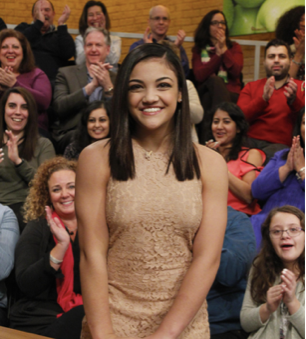 Laurie Hernandez Hasn't Forgotten Any Of The Lessons Val Chmerkovskiy Taught Her