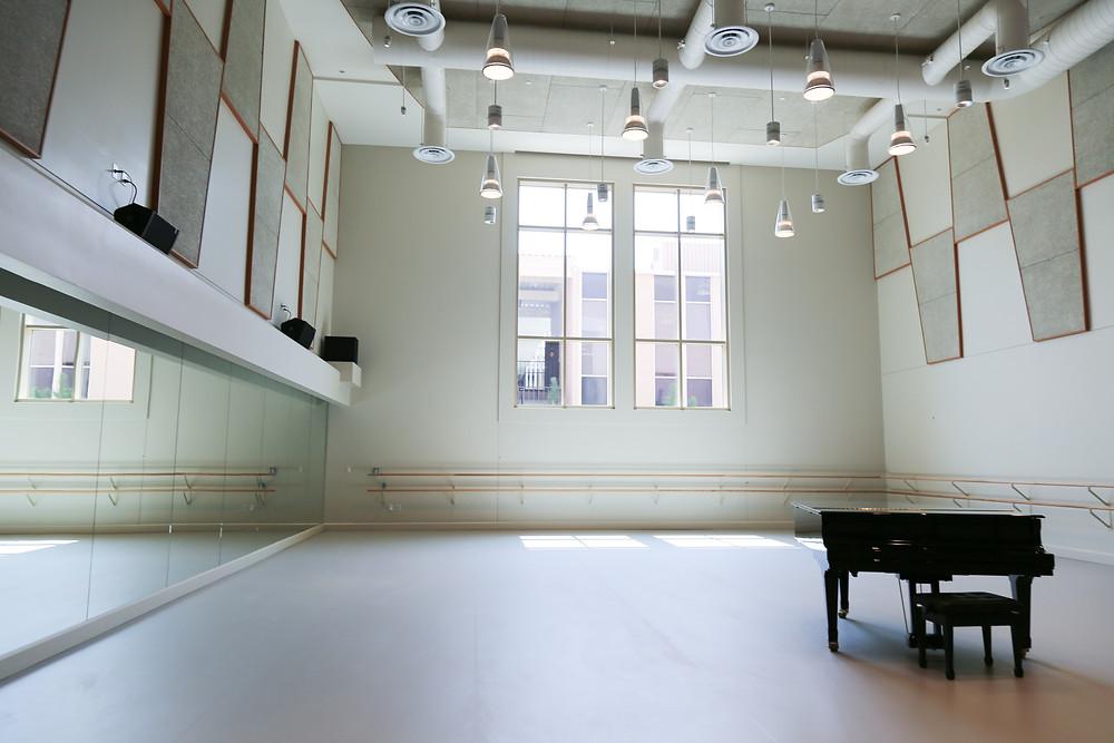 usc Kaufman dance studios