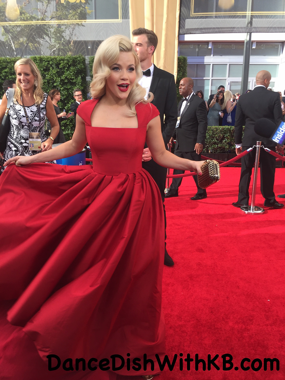 Witney Carson Emmys