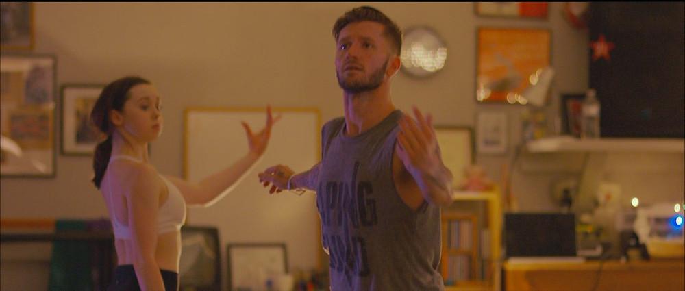 travis wall teaching dance