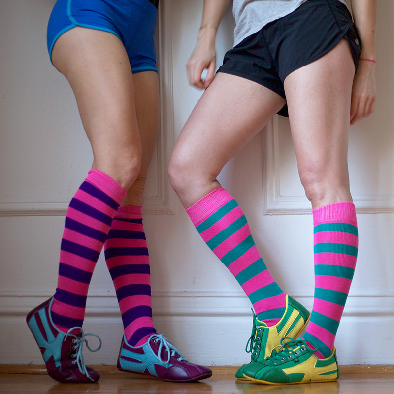 Chrissy's-Striped-Socks