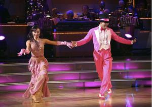JR Martinez dancing with Karina Smirnoff dwts
