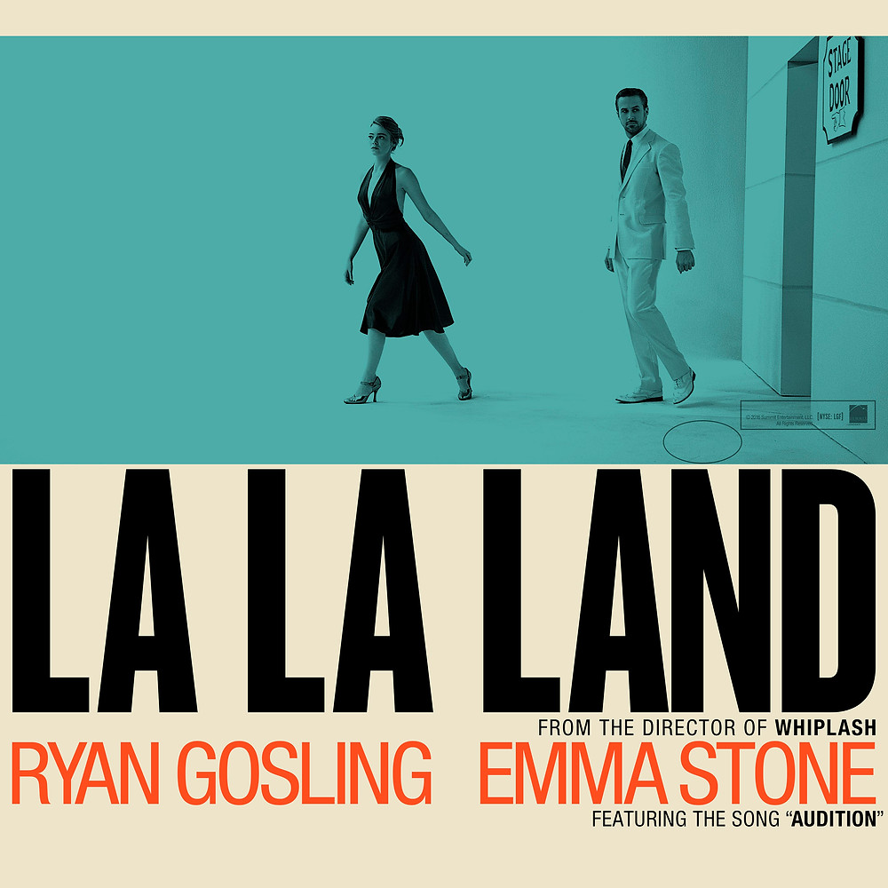 La La Land poster art