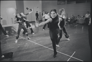 Ann Reinking in rehearsal for the stage production Dancin' in 1978.