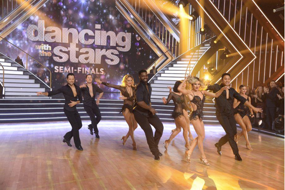DWTS pros dancing ray Leeper choreography