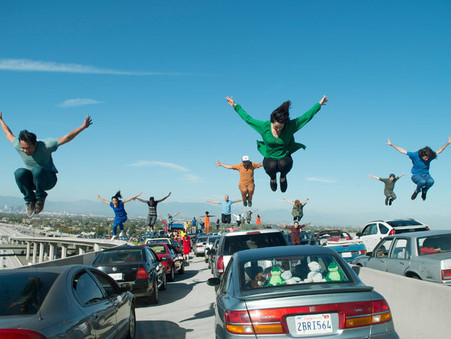 Los Angeles Celebrates 'La La Land' in a Very Big Way