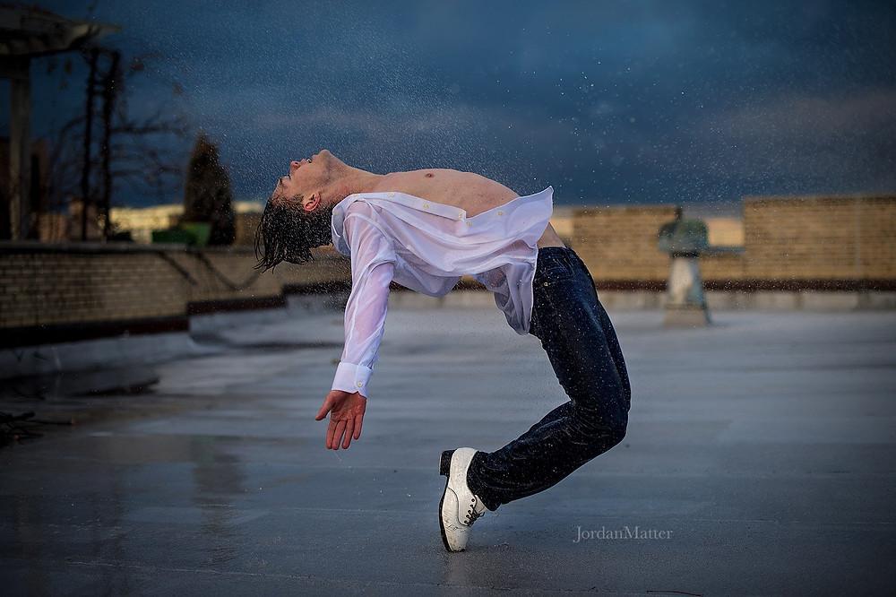 Kyle Van Newkirk tap dancer