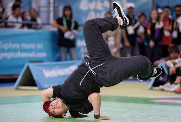 breaking olympic sport