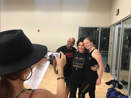 'Bald Ballerina' Maggie Kudirka Inspires At iDance4ACure