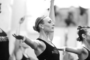 Megan Levinson dancing with rockettes
