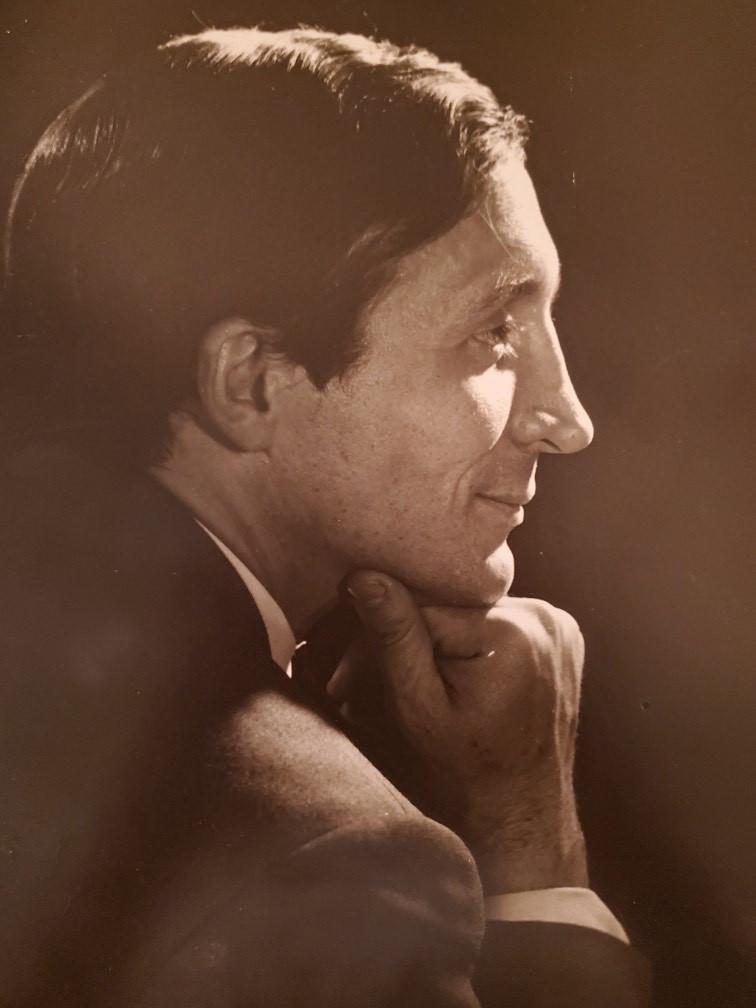 Istvan Rabovsky portrait.