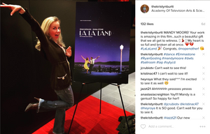 Kristyn Burtt at La La Land screening