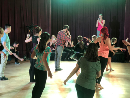 Pro Dance Camp Gives Fans A Personal Taste Of 'DWTS'