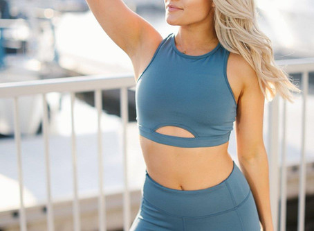 Witney Carson Launches An Athletic-Wear Line & A New Season Of 'Dancing With The Stars'