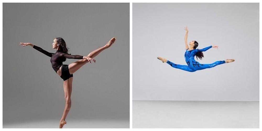 Kaeli Ware and Kayla Mak