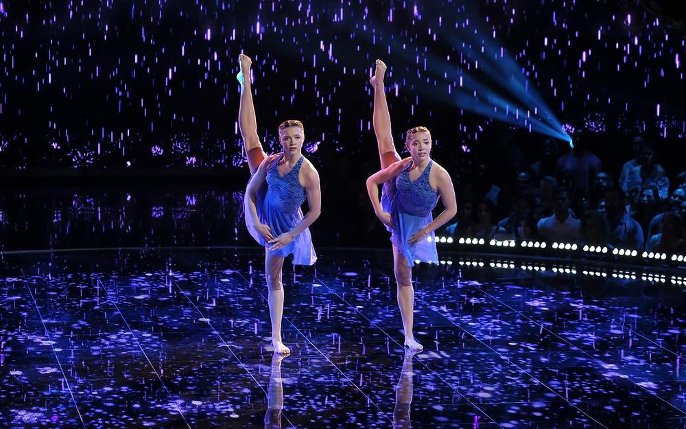 Ellie & ava Wagner world of dance