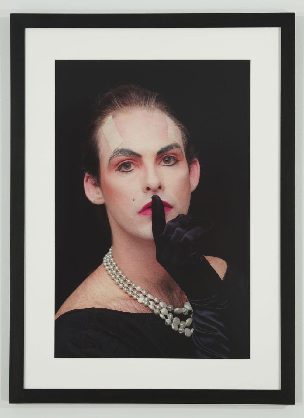 Hunter Reynolds, Shhh (from Patina du Prey Drag Pose Series), (1990/2012)