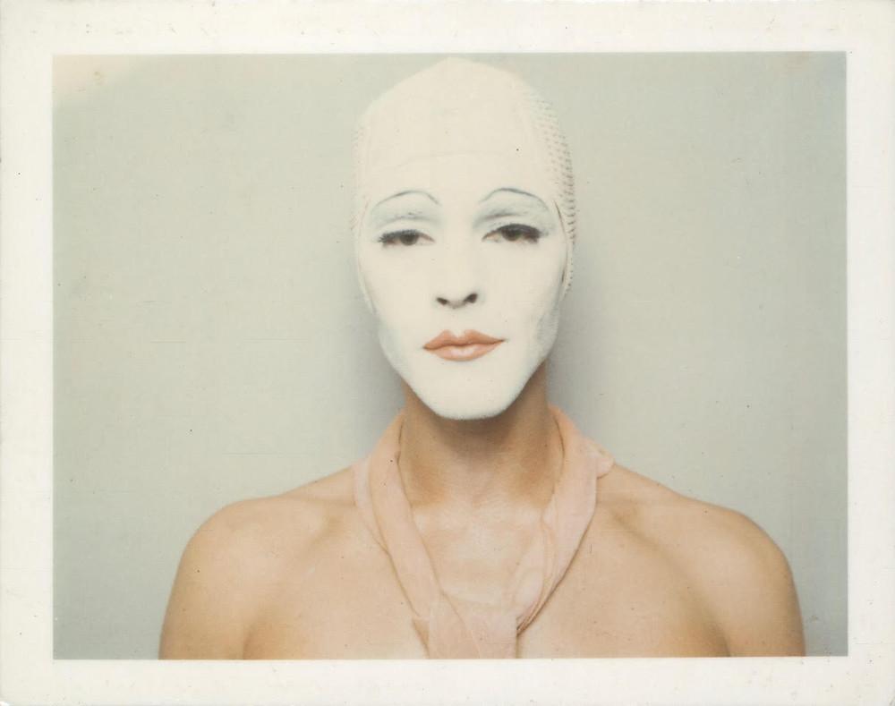 Ulay, Renais sense (White Mask), (1974/2014)