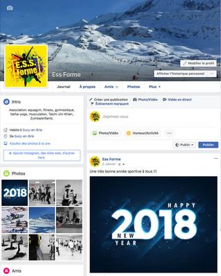 C'est fait !!! Nous sommes visibles sur Facebook !!!