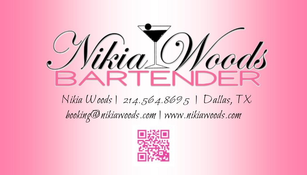 NikiaWoodsBusinessCard Pink