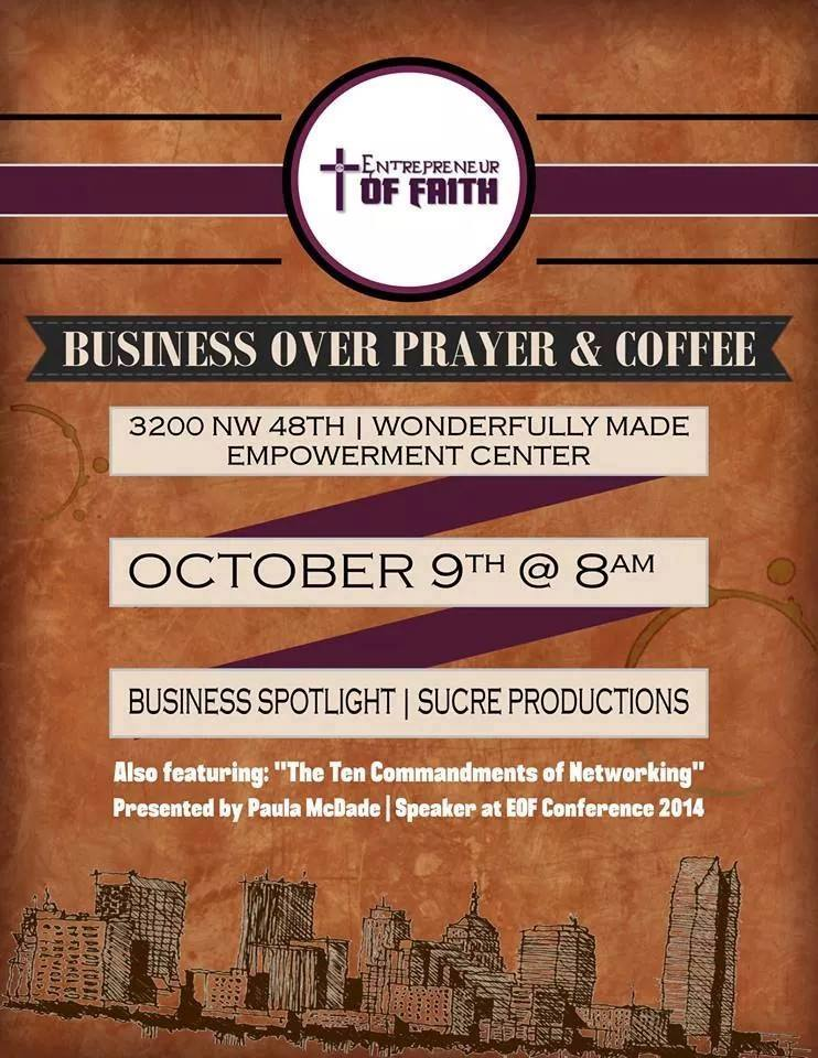 Business Over Prayer Flyer