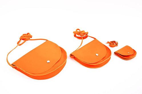 """""""Yuno""""  orange maxi / midi / maxi"""