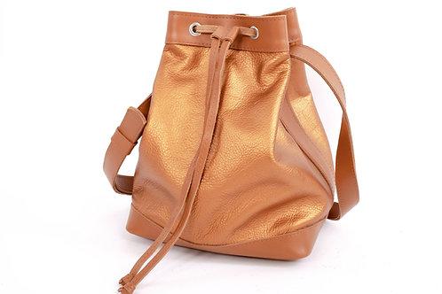 """Bucket Bag"" Caramel"