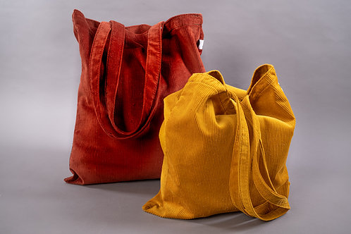 """Easy-Bags"" aus Cord"