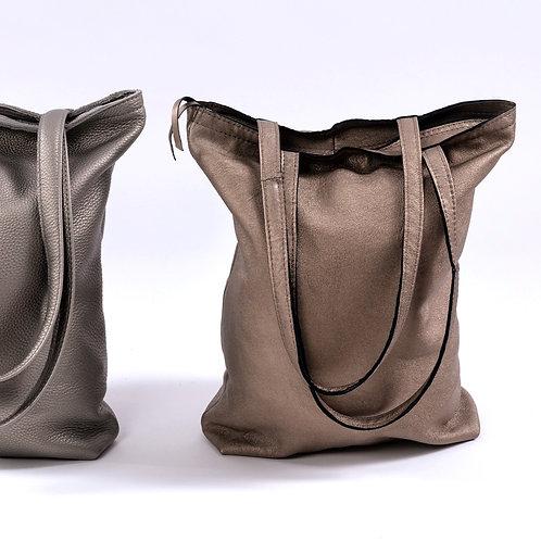 """Tasche """"Erika"""" bronze mit Reissverschluss"""
