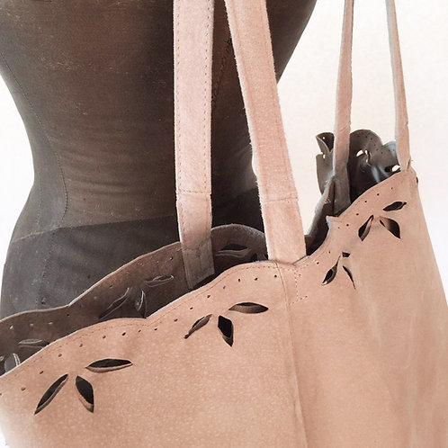 """Wildledertasche """"Erika"""" aus Vintage-Lederjacke"""