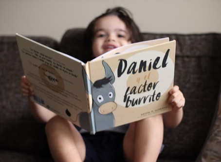 """Daniel y el Factor Burrito"" Spanish Book Release Review & Author Interview"