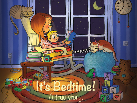 """It's Bed Time! A True Story."" Kickstarter Campaign Feature"