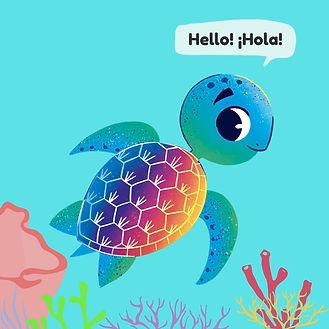 Hi! I'm Kai The Missionary Sea Turtle!.j
