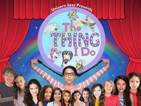 """New Puppet Show """"Unicorn Jazz: The Thing I Do Show"""" on Amazon TV!"""