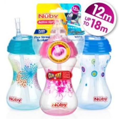 nuby-designer-flexi-straw-cup