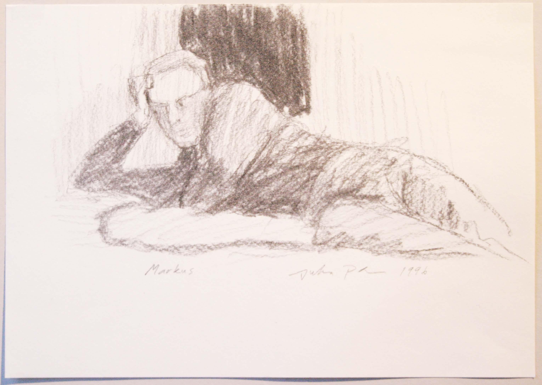 Markus,20,5x29,5cm,hiili,1996