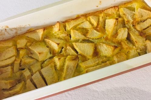 Clafoutis Amande Pomme Sans Gluten et Sans Lactose