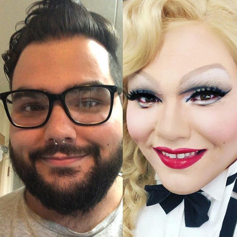 #transformationtuesday__#drag #dragqueen