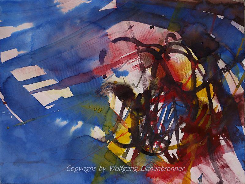 Ohne Titel II, 2014 45 x 32 cm Aquarell.