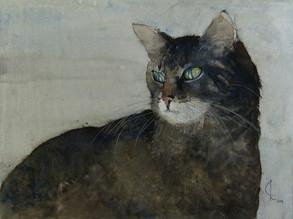 Augenblick, 2009 45 x 32 cm Aquarell
