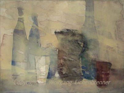 Bewegte Stille, 2010 45 x 32 cm Aquarell