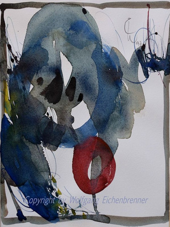 Ohne Titel, 1997 32 x 36 cm Aquarell