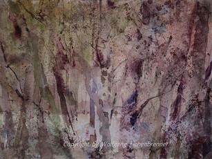 Lichtung I 2014 37 x 28 cm Aquarell