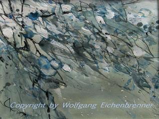 Olivenzweig, 2009 36 x 26 cm Aquarell