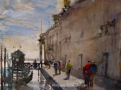 Bei der Dogana, Venedig 2014 45 x 32 cm