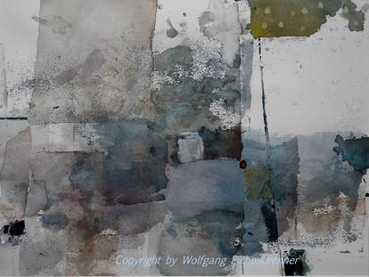 Ohne Titel, 2015, 45 x 32 cm, Aquarell