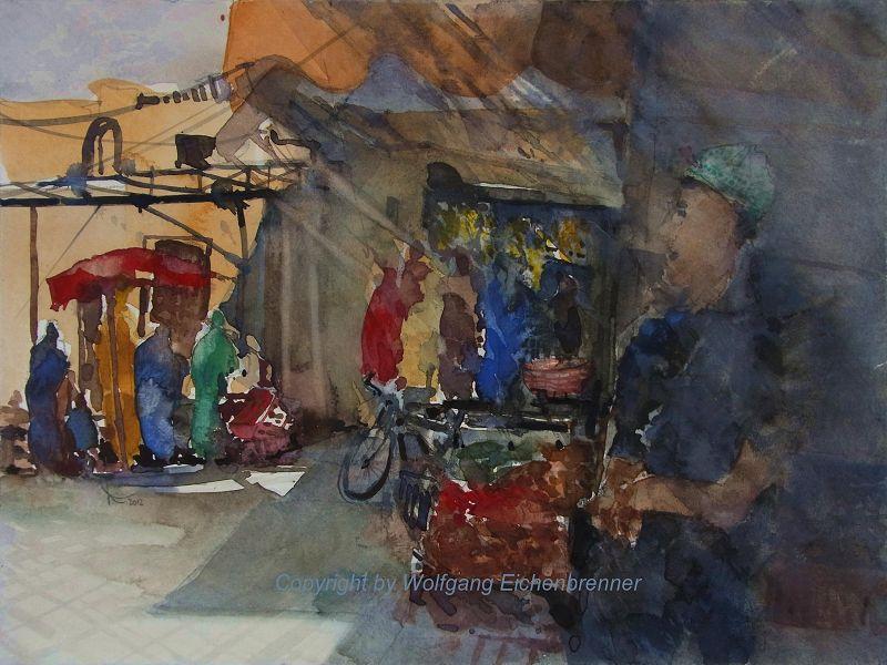 Im Souk von Taroudannt II, Marokko, 2012