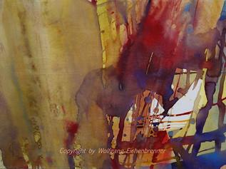 Ohne Titel III, 2014 45 x 32 cm Aquarell